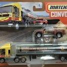 2020 Matchbox Convoys #3 MBX Cabover & Tanker w/Badlander