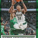 2019 Contenders Basketball Card Front Row Seat #2 Giannis Antetokounmpo