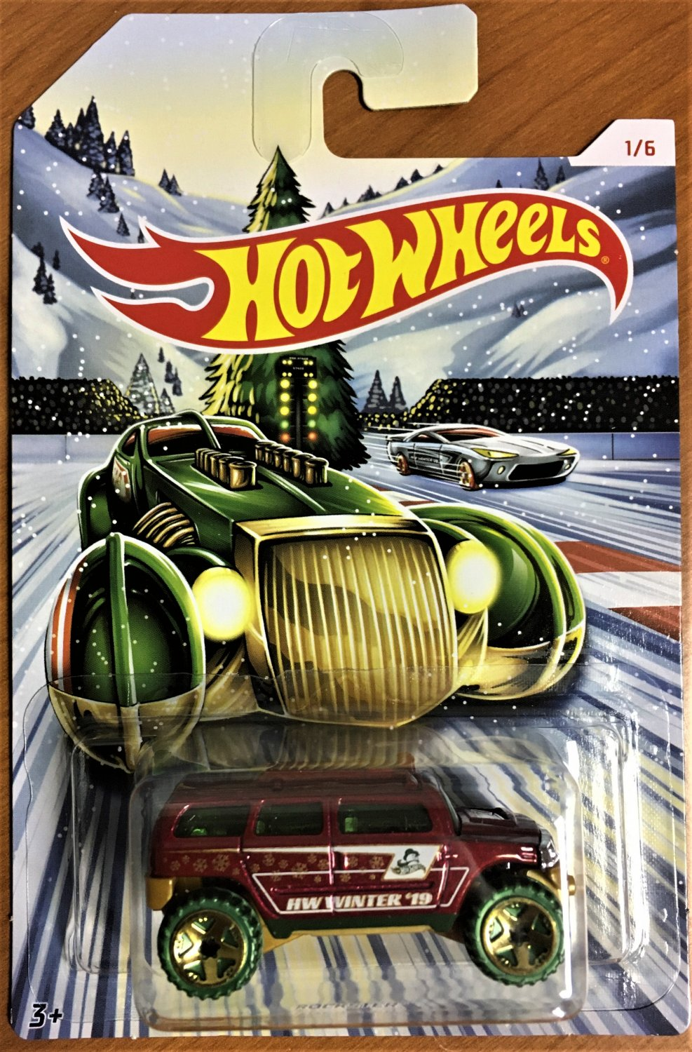 2019 Hot Wheels Holiday Hot Rods #1 Rockster