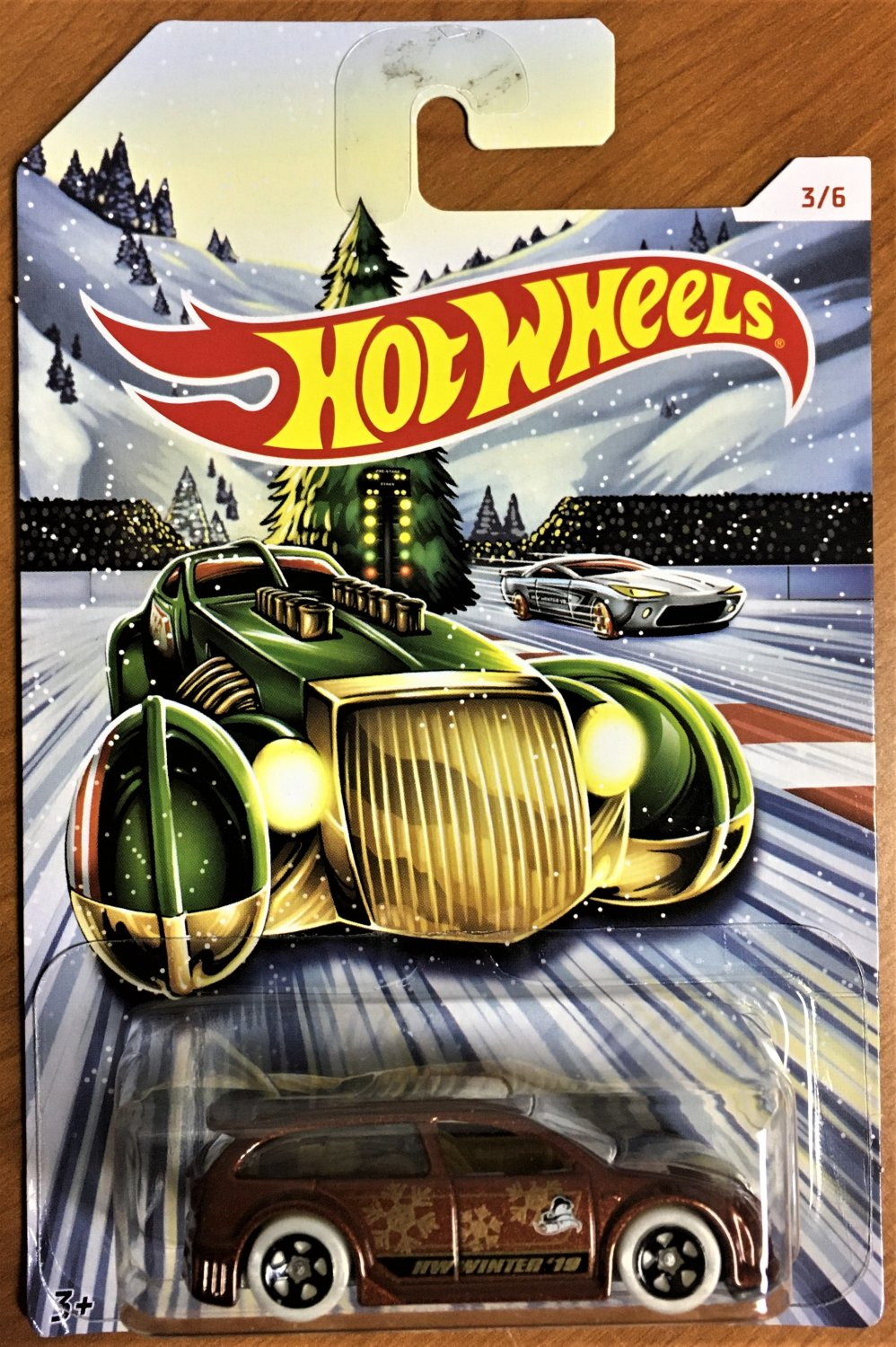 2019 Hot Wheels Holiday Hot Rods #3 Audacious