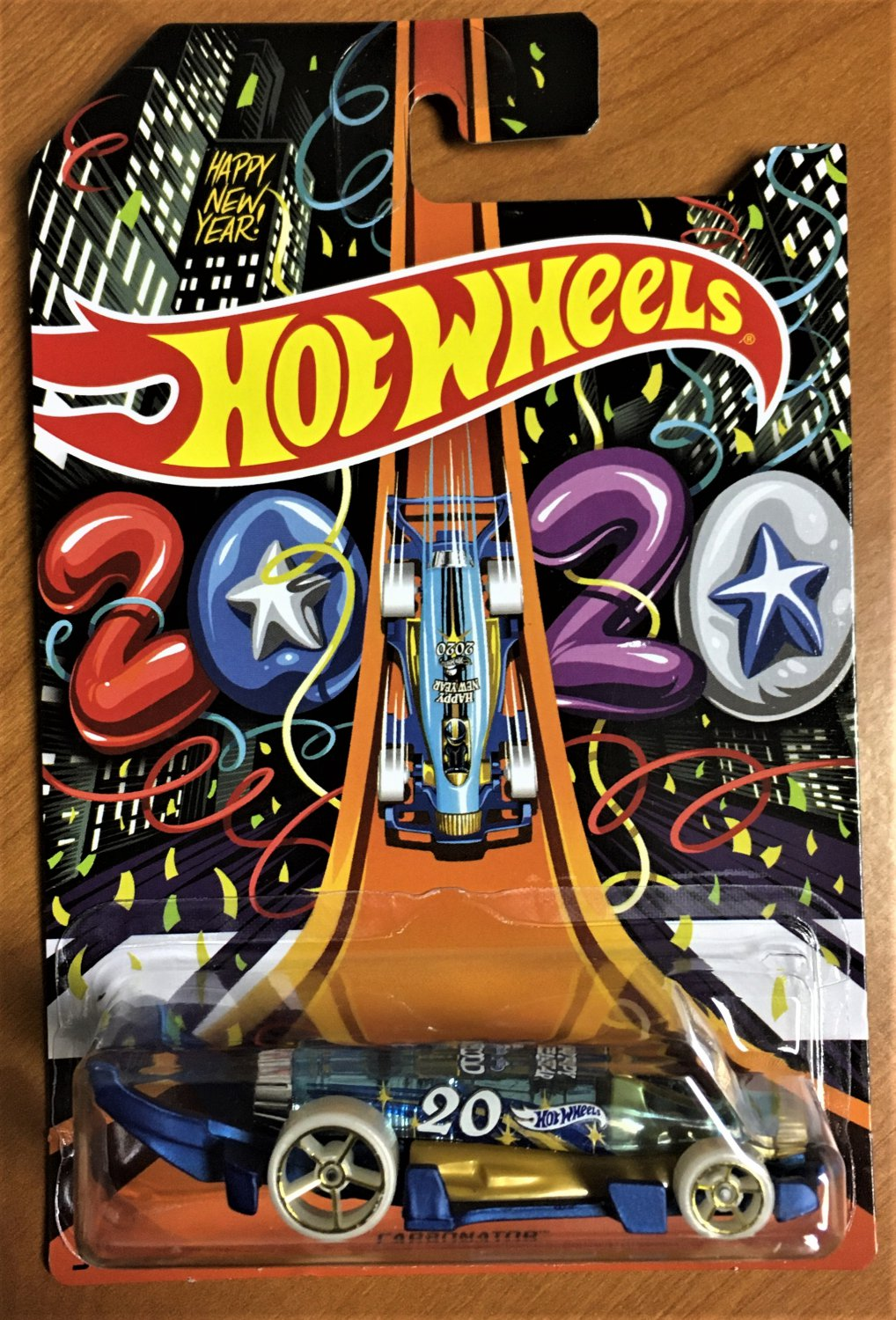 2019 Hot Wheels Holiday Hot Rods #6 Carbonator