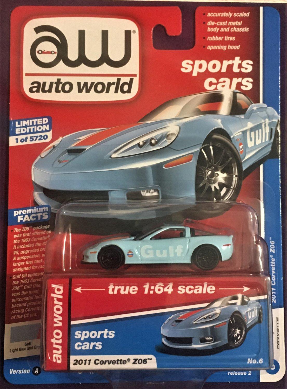2019 Auto World Release 2 #6A 2011 Corvette Z06