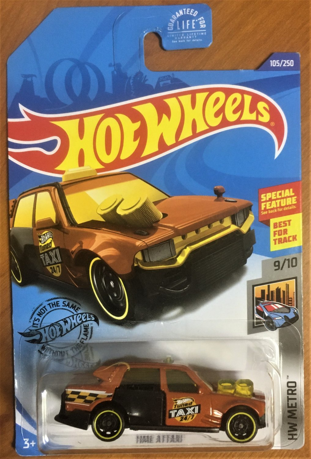 2020 Hot Wheels #105 Time Attaxi