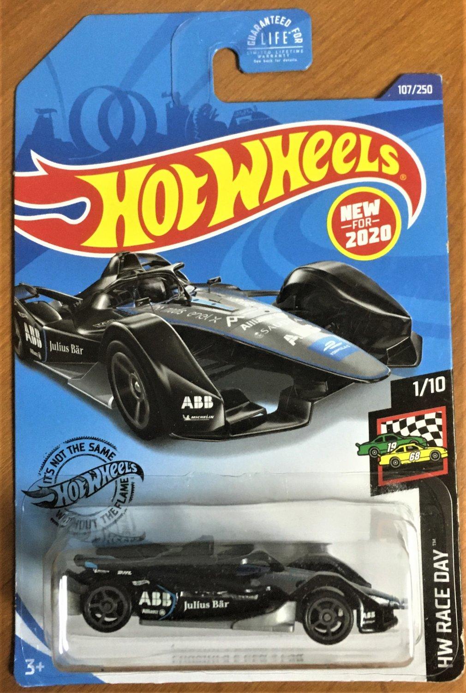 2020 Hot Wheels #107 Formula E Gen 2 Car