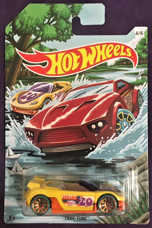 2020 Hot Wheels Spring Series #6 Trak Tune