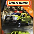 2020 Matchbox #22 Ford F-550 Superduty