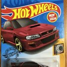 2020 Hot Wheels #23 98 Subaru Impreza 22B STI  RED