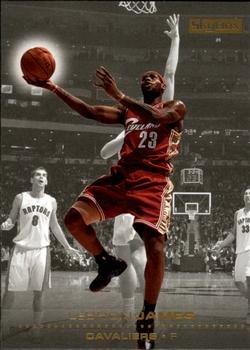 2008 Skybox Basketball Card #26 LeBron James