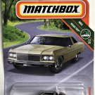 2019 Matchbox #6 75 Chevy Caprice