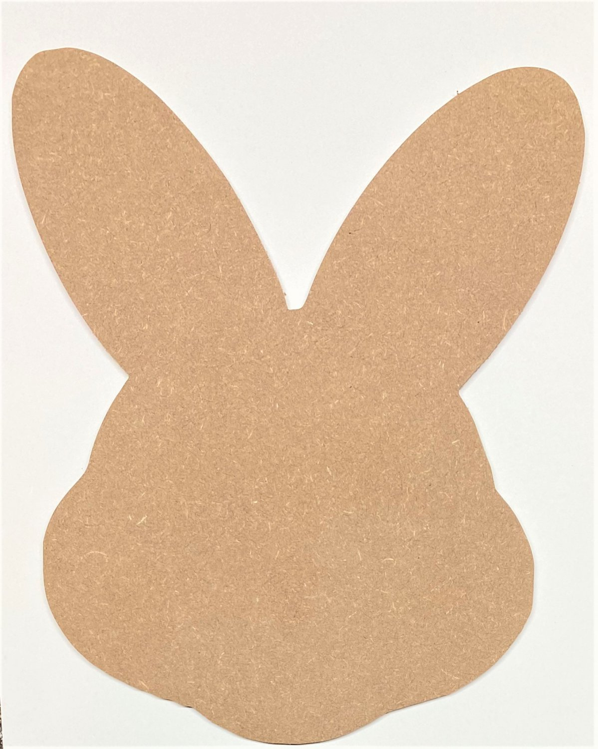 """12"""" - BUNNY HEAD - 1/4""""Thick MDF Cut Out Made in the USA"""