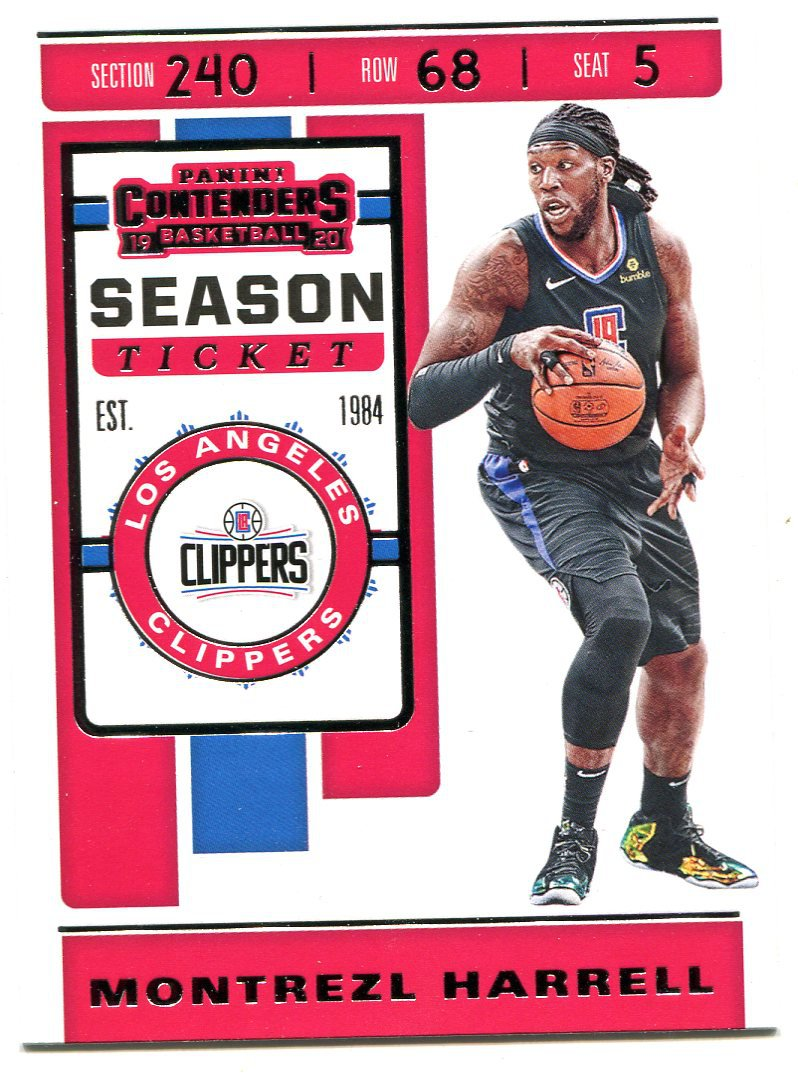 2019 Contenders Basketball Card #83 Montrezl  Harrell