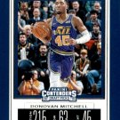 2019 Contenders Draft Picks Basketball Card #16V Donovan Mitchell