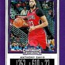 2019 Contenders Draft Picks Basketball Card #2V Anthony Davis