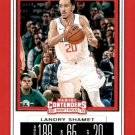 2019 Contenders Draft Picks Basketball Card #36V Landry Shamet