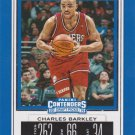 2019 Contenders Draft Picks Basketball Card #7V Charles Barkley