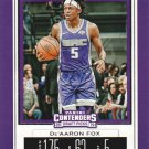 2019 Contenders Draft Picks Basketball Card #12 De'Aaron Fox