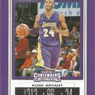 2019 Contenders Draft Picks Basketball Card #32 Kobe Bryant