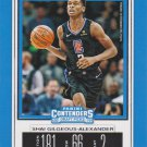 2019 Contenders Draft Picks Basketball Card #46V Shai Gilgeous-Alexander