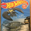 2020 Hot Wheels #56 Batplane GRAY