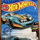 2020 Hot Wheels #34 76 Greenwood Covette TEAL