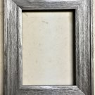 """F045-202 5 x 5 1-1/2"""" Aliuminum Barnwood Picture Frame"""