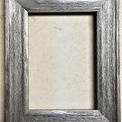 """F045-202 5 x 7 1-1/2"""" Aliuminum Barnwood Picture Frame"""