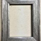 """F045-202 8 x 10 1-1/2"""" Aliuminum Barnwood Picture Frame"""