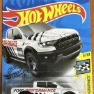 2020 Hot Wheels #76 19 Ford Ranger Raptor WHITE