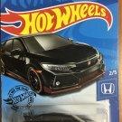 2020 Hot Wheels #81 2018 Honda Civic Type R BLACK