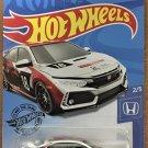 2020 Hot Wheels #81 2018 Honda Civic Type R WHITE
