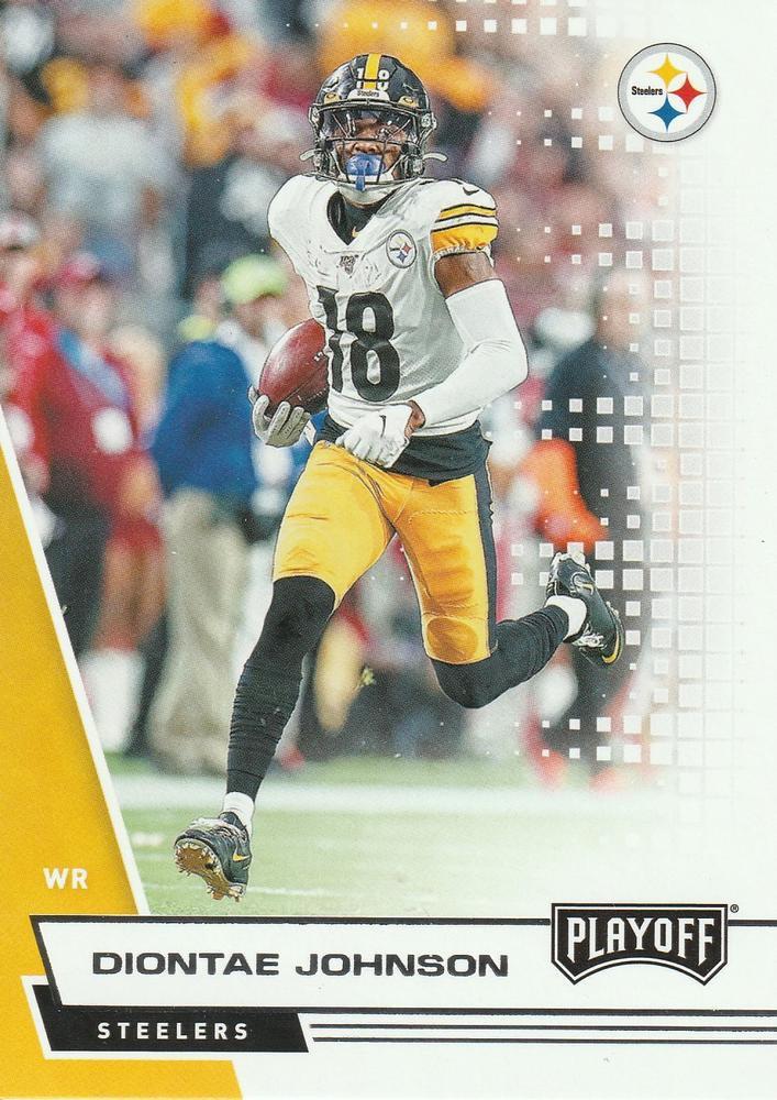 2020 Playoff Football Card #45 Diontae Johnson