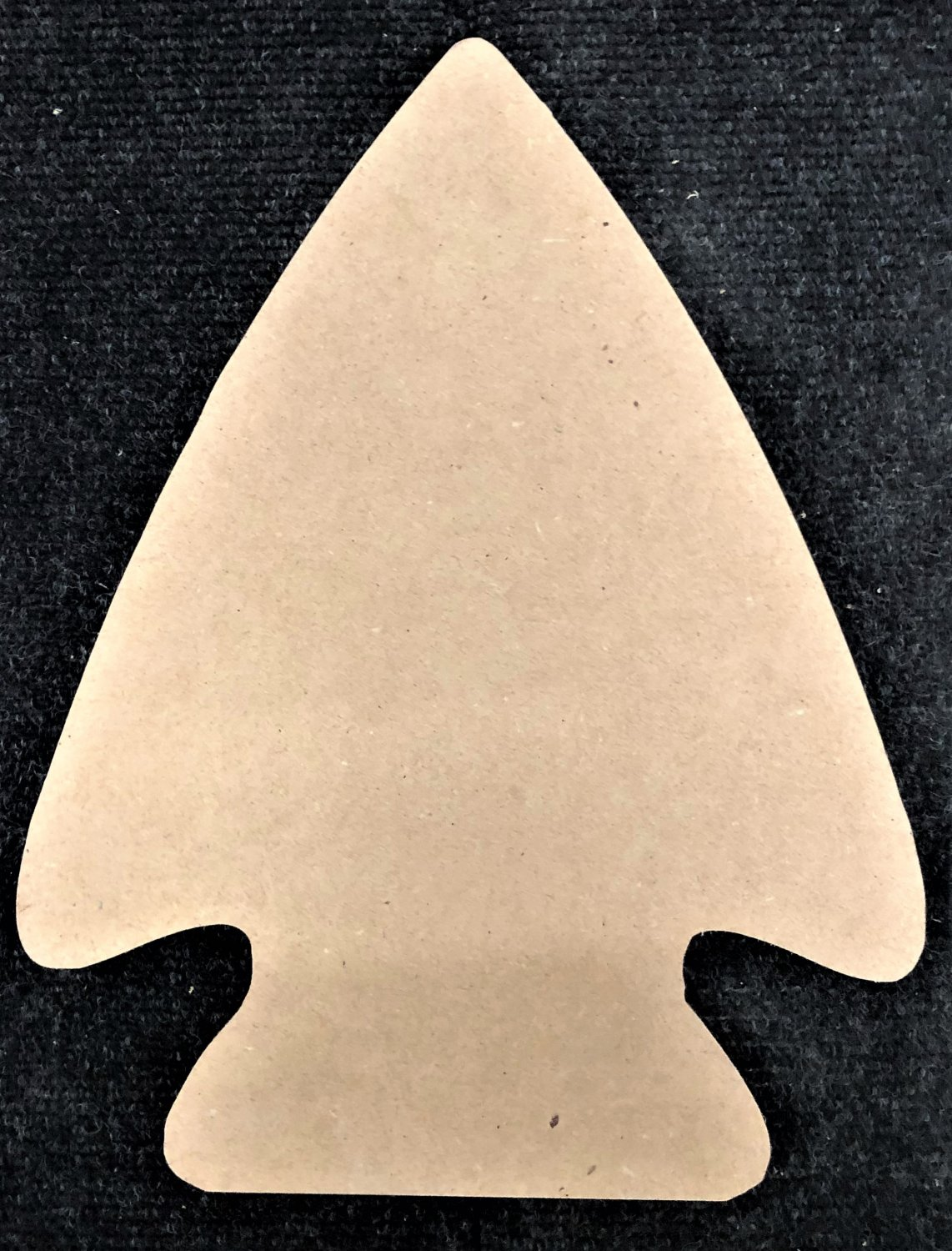 "18"" - ARROW HEAD - 1/4""Thick MDF Cut Out Made in the USA"