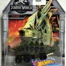 Hot Wheels Character Cars Jurassic World #FLJ08 Stegosaurus