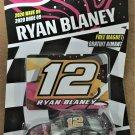 2020 Nascar Authentics Wave 9 #21369 Ryan Blaney