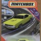 2020 Matchbox #56 1970 Plymouth Cuda