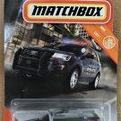 2020 Matchbox #78 2016 Ford Interceptor Utility