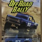 2020 Matchbox Off Road Rally #6 1972 Ford Bronco 4x4