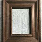 "S001 5 x 5 2-3/16"" Walnut Wood Picture Frame"