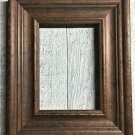 "S001 6 x 6 2-3/16"" Walnut Wood Picture Frame"