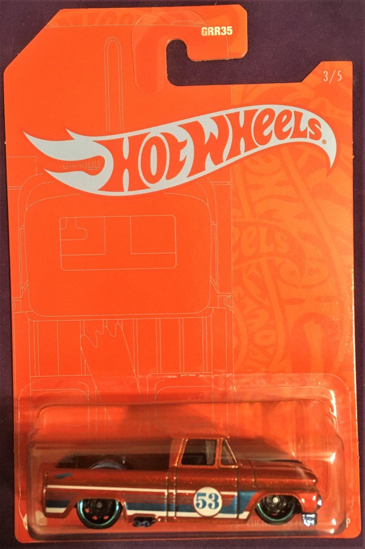 2021 Hot Wheels Anniversary #3 Custom 62 Chevy Pickup