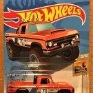 2021 Hot Wheels #3 70 Dodge Power Wagon ORANGE
