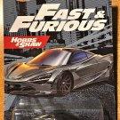 2021 Hot Wheels Fast & Furious #3 McLaren 720S