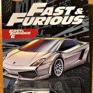 2021 Hot Wheels Fast & Furious #4 Lamborghini Gallardo LP 560-4