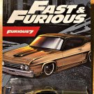 2021 Hot Wheels Fast & Furious #5 69 Ford Torino Talladega