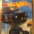 2021 Hot Wheels #32 Land Rover Defender 90 BLUE