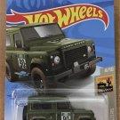 2021 Hot Wheels #32 Land Rover Defender 90 GREEN