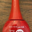 Maybelline Fas Gel Nail Lacquer #140 Rebel Red