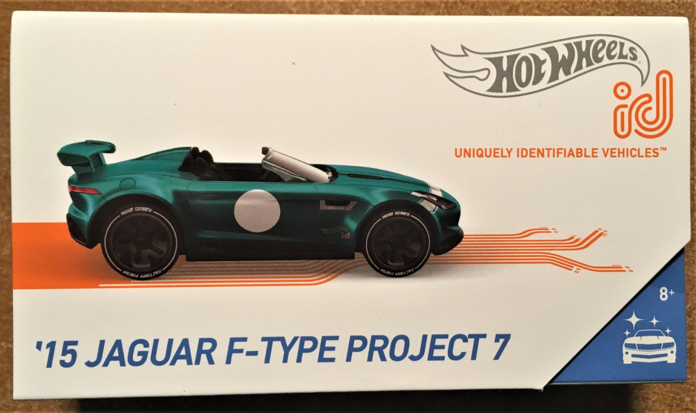 2019 Hot Wheels id #FXB18 15 Jaguar F-Type Project 7