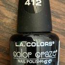 L A Colors Color Craze Nail Polish #412 Circuits