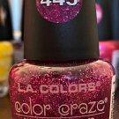 L A Colors Color Craze Nail Polish #445 Glistening Purple